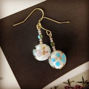 Jewelry - 3 for $15 Vintage Bead Asian Earrings